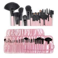25 pieces makeup brush kit