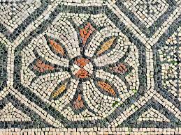 roman mosaic patterns to colour roman