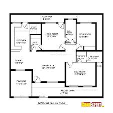house plan for 50 feet by 45 feet plot