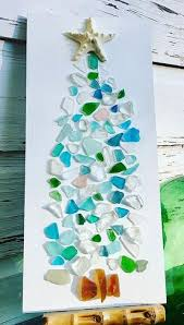 seaglass with trees