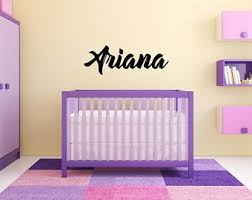 Ariana Wall Sticker Etsy