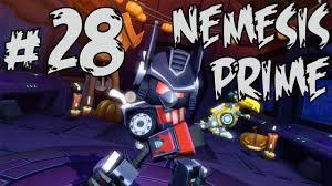 Angry birds transformers nemesis prime