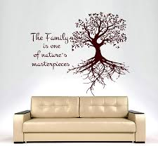 Tree Wall Decals Family Is One Of Nature S Decal Vinyl Sticker Bedroom Art Mn243 For Sale Online