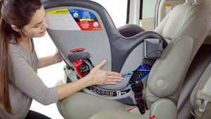 chicco car seat install without base
