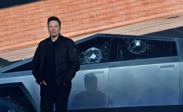 Image result for Elon Musk's Net worth drops by 6 percent in a single day after the Cybertruck fiasco""