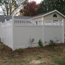 6 Annapolis Vinyl Privacy Fence Weatherables