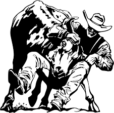 For Steer Wrestling Decal Western Rodeo 02 Vinyl Rodeo Trailer Graphics Sticker Vinyl Decal For Windows Cars Trucks Laptops Car Stickers Aliexpress