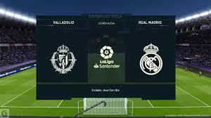 VALLADOLID vs REAL MADRID | Laliga Santander Highlights Gameplay