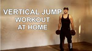 vertical jump workout at home