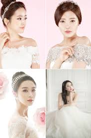 6 korean bridal hair makeup style