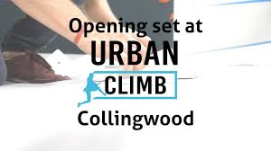 urban climb collingwood bouldering gym