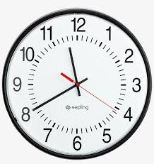 Download Free png Best Free Clock Png Icon - Clock Clipart ...