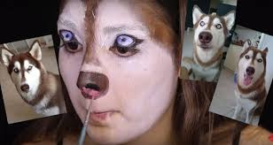 this makeup tutorial for dog is
