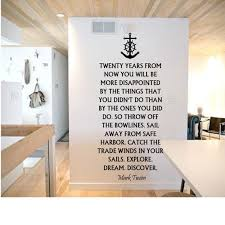 Mark Twain Quote Wall Decal Etsy