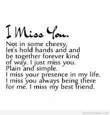 i miss you best friend sayings