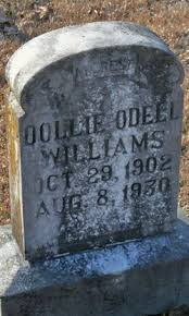 Dollie Odell Pruitt Williams (1902-1930) - Find A Grave Memorial