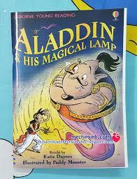 Aladdin & his magical lamp - Usborne Young Reading bộ truyện tiếng ...