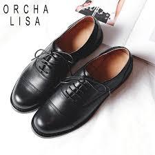 pumps genuine leather brogue shoes