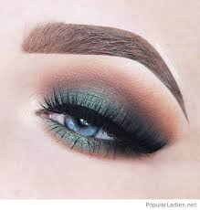 makeup techniques for blue green eyes