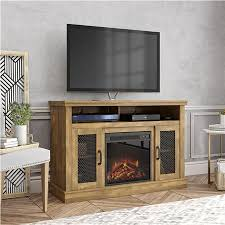 cresthaven fireplace tv stand for tvs