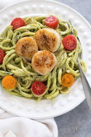 Seared Scallops on Zucchini Noodles ...