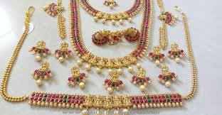 latest indian wedding jewelry sets and