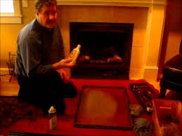 how to clean your gas fireplace glass