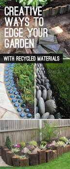 Garden Edging Landscape Edging Ideas With Recycled Materials The Garden Glove