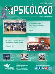 Guia Del Psicologo Mes De Octubre 2019 By Colegio Oficial De La
