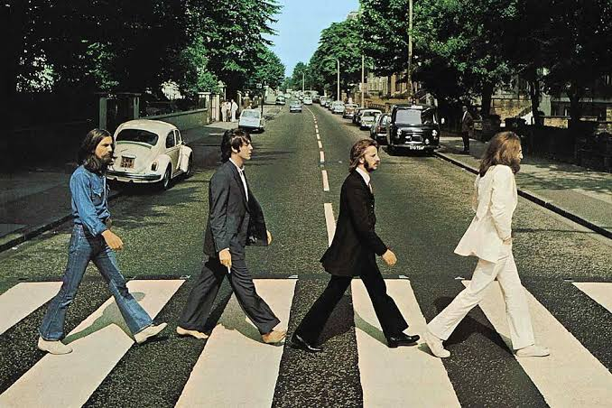 Image result for the beatles abbey road""