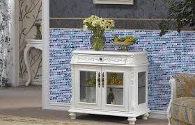 glass mosaic wall tile taupe tiles