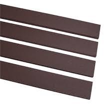 Ekodeck 67 X 15mm 2 7m Dark Brown Composite Screening Bunnings Warehouse