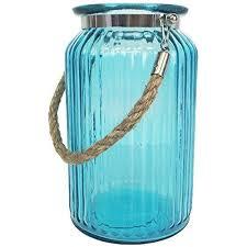 7 5 h glass ribbed cylinder vase