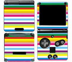 Rainbow 008 Vinyl Decal Skin Cover Sticker For Game Boy Advance Gba Sp Ebay