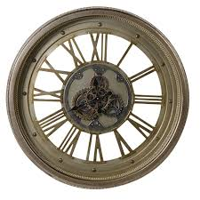 vintage style large wall clock