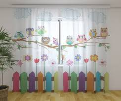 Sheer Curtains Kids Room Curtains Custom Curtains Etsy