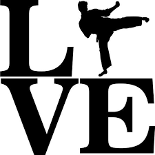 Love Taekwondo Or Martial Arts Decal Vinyl Decal For Car Window Locker Laptop And More Taekwondo Martial Arts Vinyl Decals