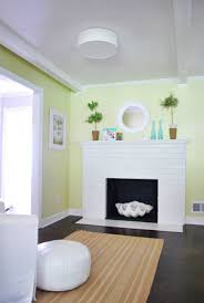 too small mirror over the mantel