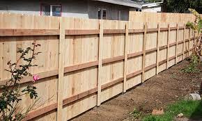 Wood Fence Post Options Metal Fence Posts