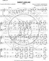 You're The Flower Of My Heart, Sweet Adeline (TTBB) (arr. Louis  Perry)-Download (Unpublished version) - Barbershop Harmony Society