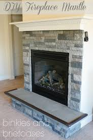 build a floating fireplace mantle