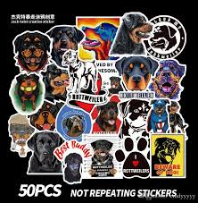 2020 Mixed Car Stickers Rottweiler Dog Pets For Skateboard Laptop Helmet Stickers Pad Bicycle Bike Ps4 Notebook Fridge Guitar Pvc Decal From Dreamer1995 1 72 Dhgate Com