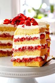 best strawberry shortcake cake make