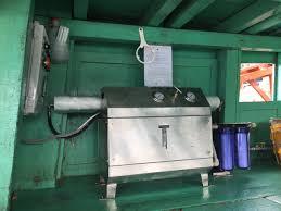 Thi công lắp đặt máy lọc nước biển trên tàu cá