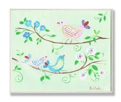 The Kids Room Three Birds On Branches With Checkers Rectangle Wall Plaque By The Kids Room By Stupell Http Www Amazon Bird On Branch Wall Plaques Kids Room