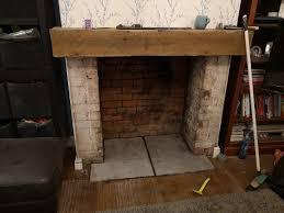wood burner hearth cock up help