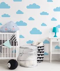 Cloud Wall Decals Removable Nursery Decor 41 Orchard