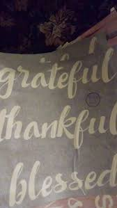 Buy Grateful Thankful Blessed Vinyl Decal Or Vinyl Stencil For Wood Craft Painting Walls With Style Stencil Form For One Time Use Painting In Cheap Price On Alibaba Com