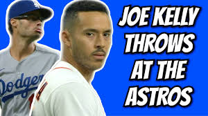JOE KELLY TRIES TO HIT THE ASTROS - YouTube