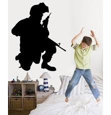 Wallhogs Haynes Military Soldier Ii Silhouette Cutout Wall Decal Wayfair